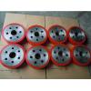 供应北京设备用输送滚轮耐磨聚氨酯橡胶包胶挂胶
