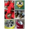 供应武汉工业设备用聚氨酯胶轮加工包胶,橡胶滚轮包胶加工